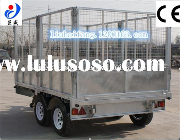 Electornic small box trailer,rear tipping Trailer for sale