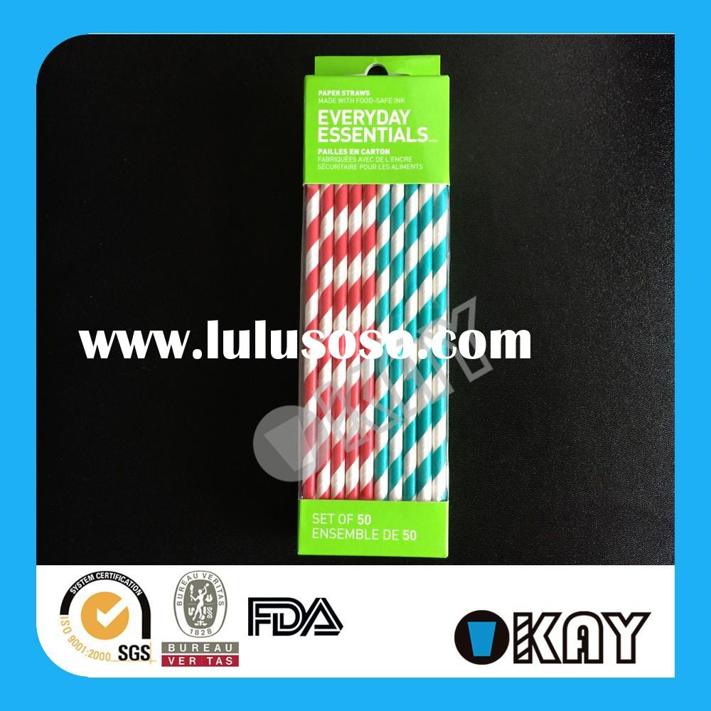 Factory Aduited Passed High Quality Back To School Paper Straws