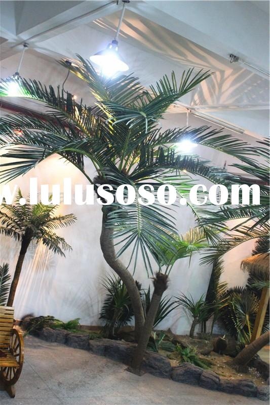 Home garden deco 200cm to 1000 cm hight artificial outdoor large palm trees sale EDZLS02 0403