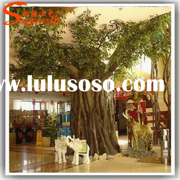 Large outdoor artificial decorative tree branches cheap fake big trees factory sale artificial tree