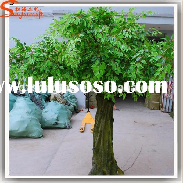 Manufacture in guangzhou, Large realistic outdoor artificial cheap trees branches artificial plants