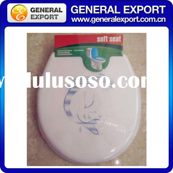 "NEW 17""Adult Printed protable pvc disposable travel toilet seat cover paper"