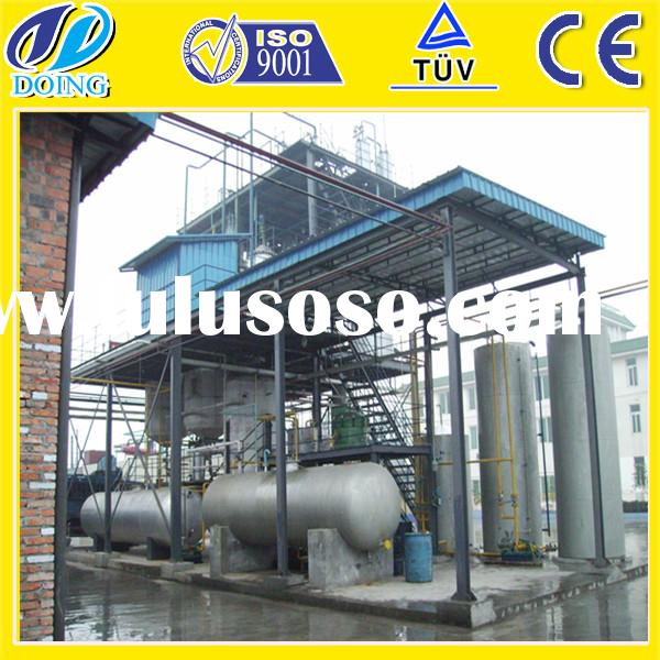Newest technology animal fat biodiesel kit machine for sale