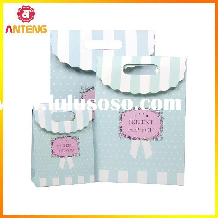 Plastic Ziplock Bag With Handle Small Paper Packaging Bag