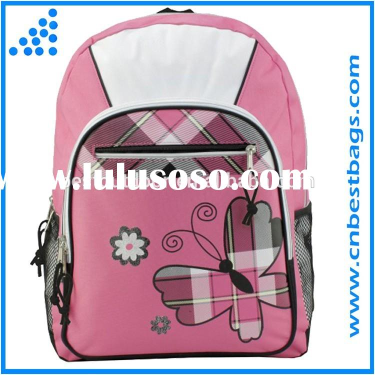 Student School Backpack / Girls Print School Backpacks Book Bags