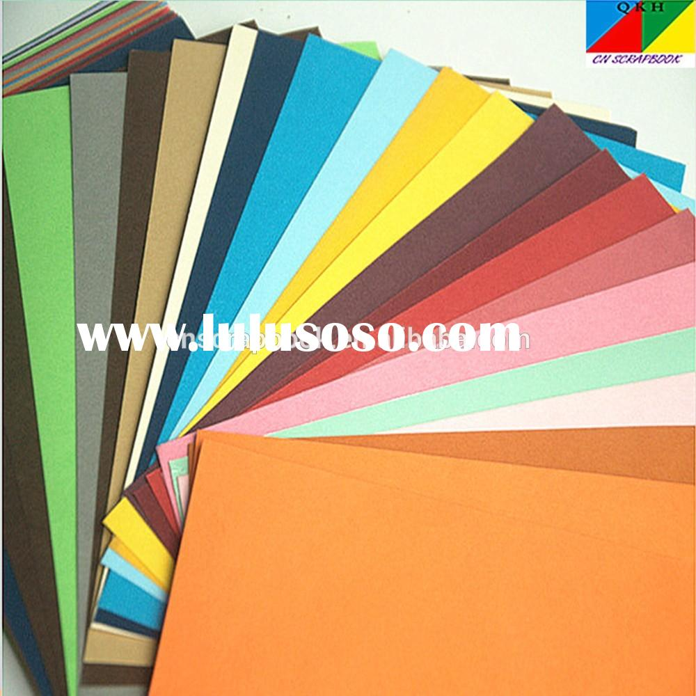 Wedding Decoraion a4 colorful rice paper for crafts
