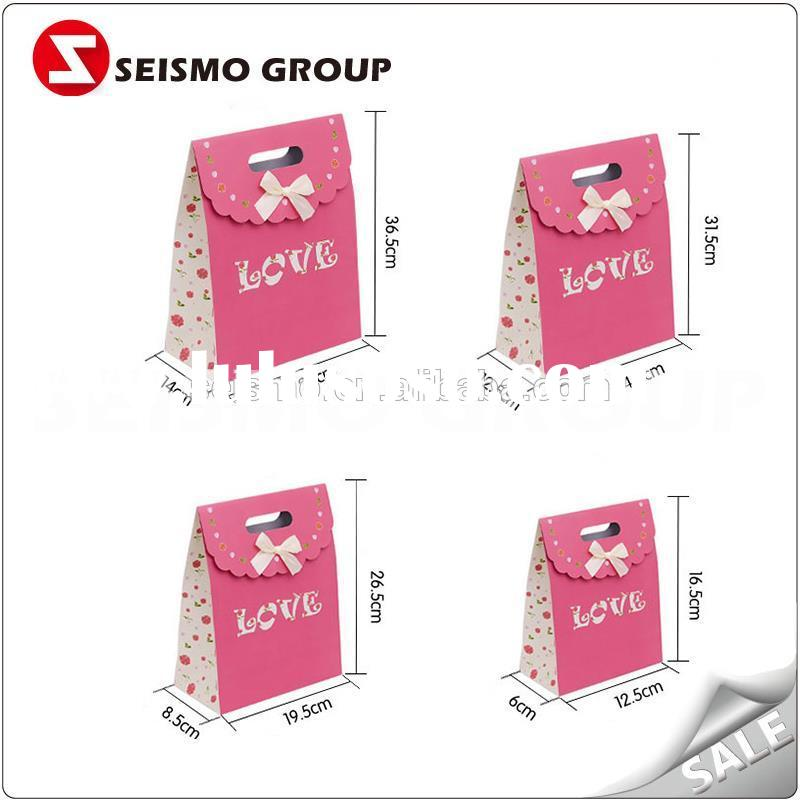 rice paper bags promotion craft paper bag