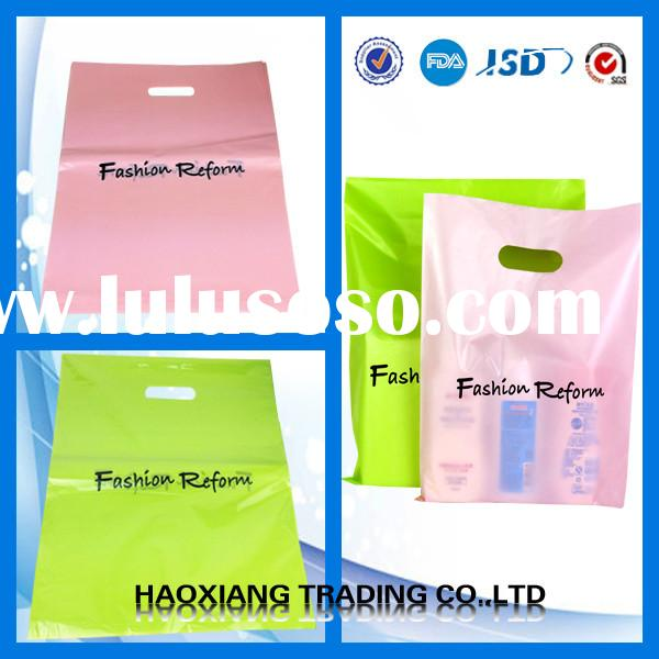 small plastic bags with handles for supermarket shopping bag