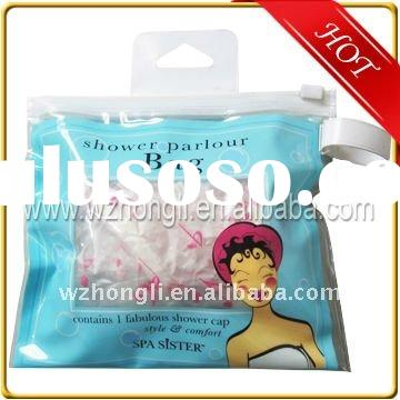small size pvc plastic Zipper bag with handle