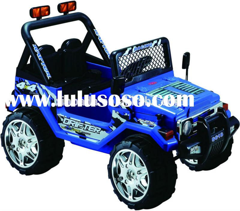 12V battery operated jeep cars .electric jeep cars 12V, twins seater jeep cars ,toys car