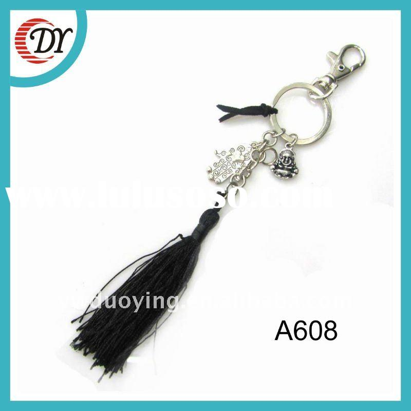 2014 New Hotseller Unique Handmade Buddha Keychain For Women
