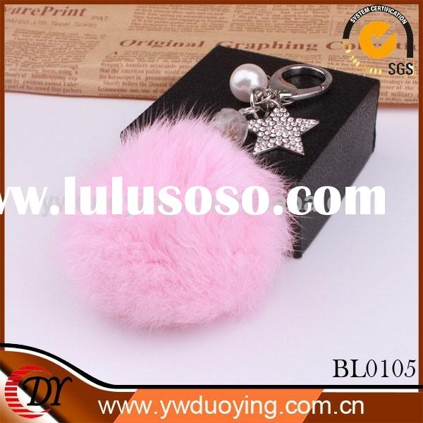 2014 hot new products fashion unique jewelry keychain bag pendant for women