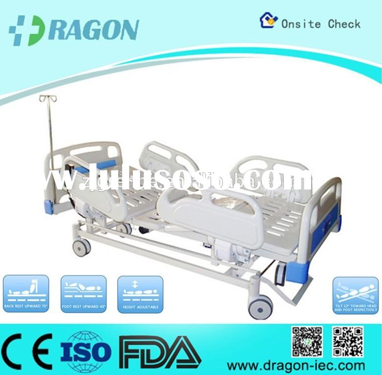 2015 Clearance price!!High-quality!!5-functions icu electrical bed with cpr functions DW-BD104