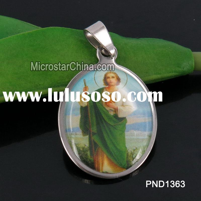 202L Fashion Charm Stainless Steel Jewelry Pendant Themed Jesus Stainless Steel Pendant For Man