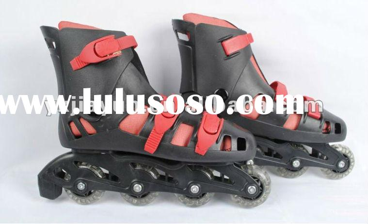 4 wheel retractable roller skate shoes for promotion,hot sale cheap inline speed skates