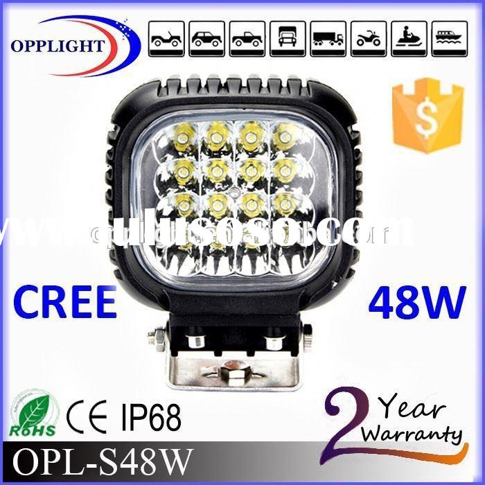 Auto motor parts 48W Led work light led headlight turning light work lamps for tractors 4x4 accessor