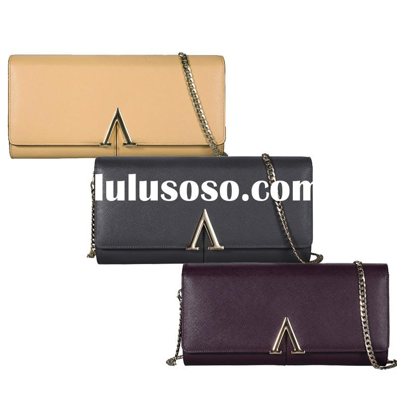 BANUCE Wholesale Fashion Leather Messenger Bag For Woman With Chain Lady Messenger Bag