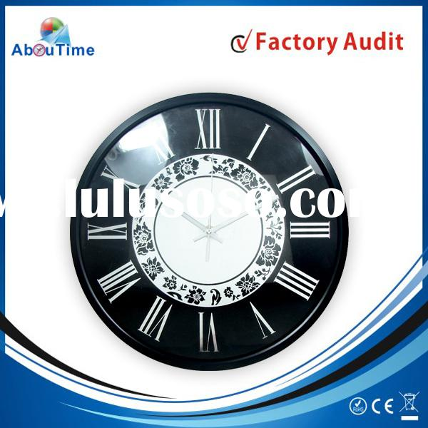 Bathroom Wall Clock With Waterproof Plastic Wall Clock For CE Quartz Clock Parts