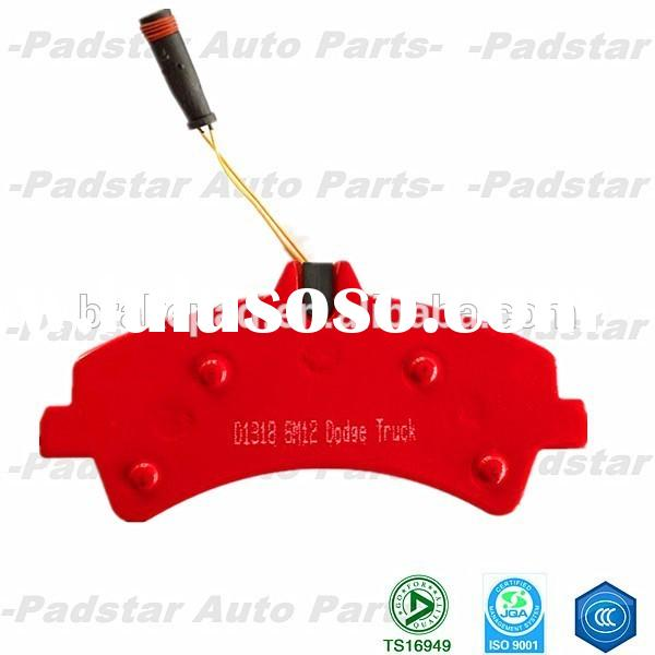 Car brake system auto parts ford mondeo disc car brake pad D818 car accessories from shizun