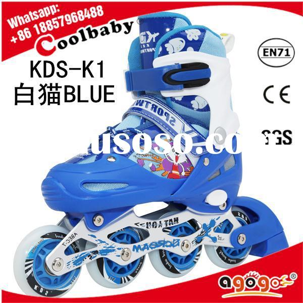 Coolbaby Hot selling with low price 4 wheel retractable roller skate shoes roller skate shoes price