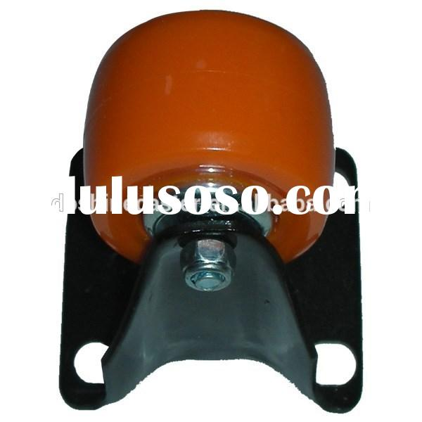 Factory supply small colorful furniture rigid caster wheels