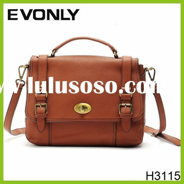 H3115 High Grade Leather women Messenger Bag Shoulder Bag for Business & Leisure