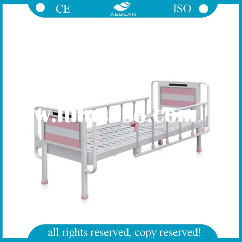 Hospital bed AG-BMS302 With Detachable steel frame headboard/footboard medical bed for hospital pati