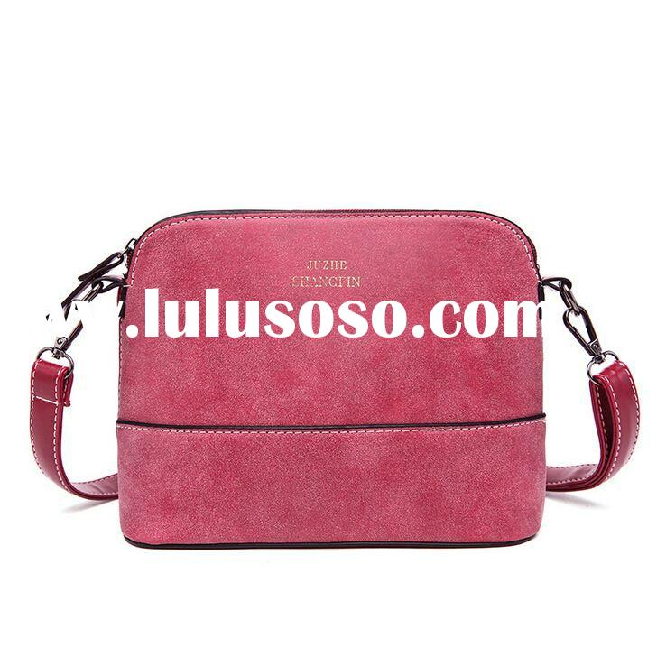 Hot Sale Women's Handbag Shoulder Bags Shell Bag Nubuck Leather Small Crossbody Bags for Wom