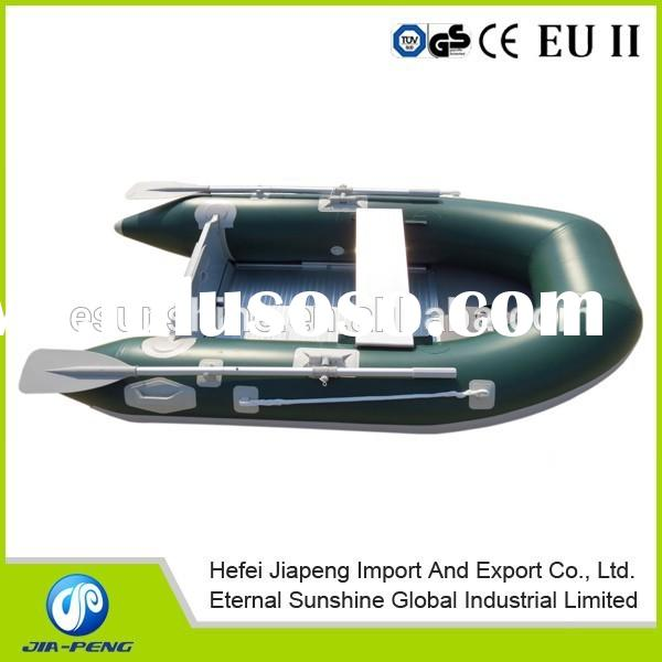 Hot sale 2.7m aluminium floor rubber boat/aluminum floor inflatable boat/cheap boat for sale
