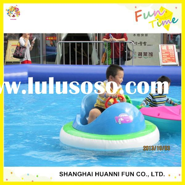 Inflatable Kids Bumper Boats UFO Bumper Boats for Swimming Pool Rubber Bumper Water Boat