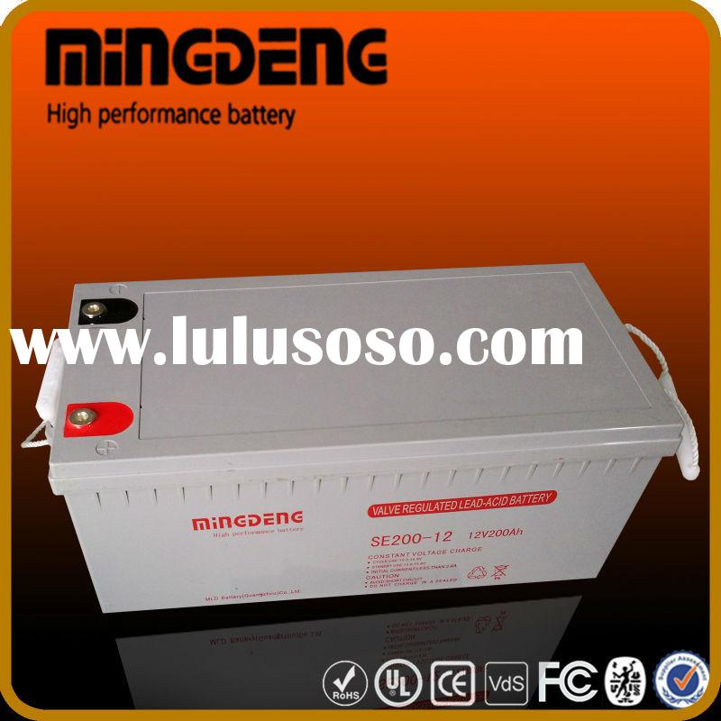 MINGDENG 200a 12 volts fm free maintenance battery sealed type electronic electric toy car battery