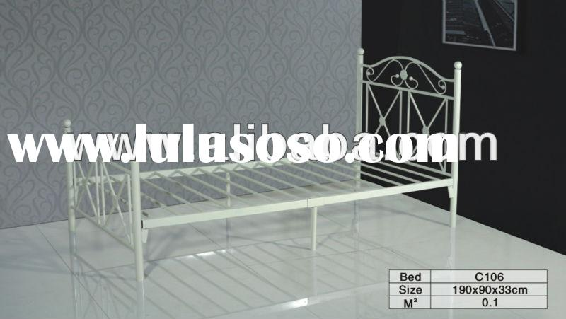 New queen size bed metal headboard footboard and frame