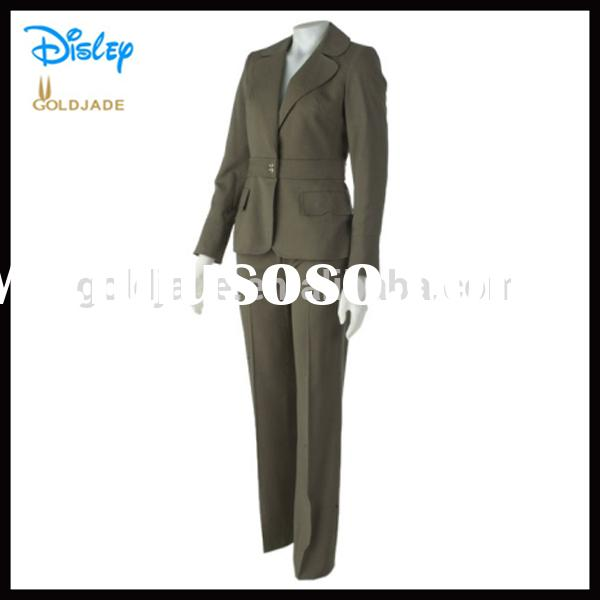 OEM sample office uniform designs 2014 for office
