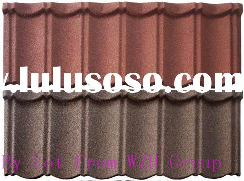 Outstanding Durability Colored Sand Aluminum Zinc Plate metal roofing insulation materials