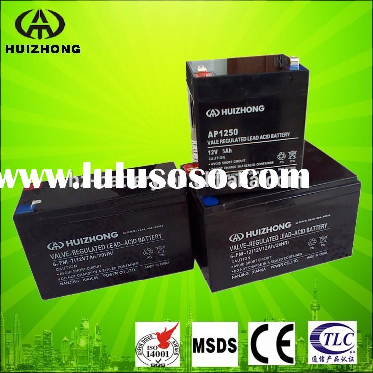 Rechargeable sealed lead acid battery 12v 2.5ah, 12v small battery, toys car battery