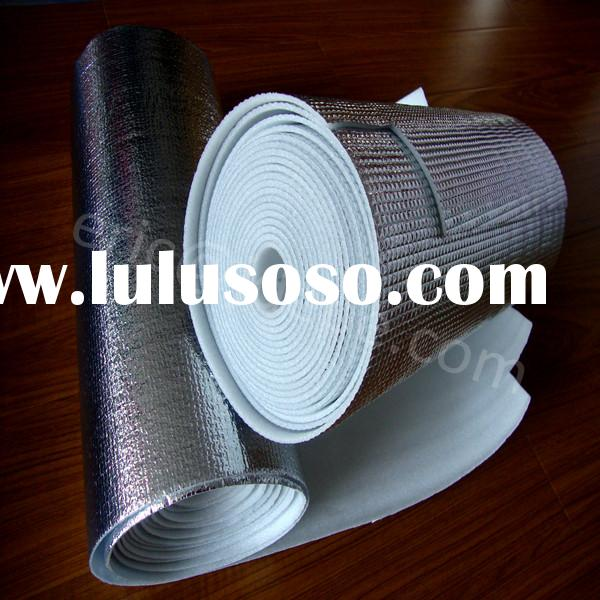 Reflective aluminum foil foam building materials heat insulation material suppliers under metal roof