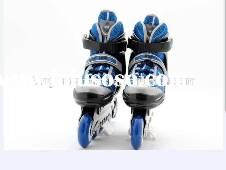 Semi-soft children adjuatable roller skates,Wholesale 4 wheel inline skates , adjuatable kids skates
