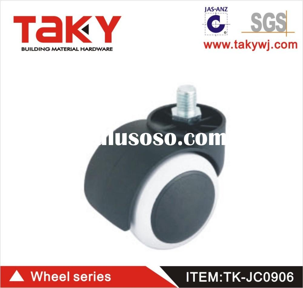 TK-JC906 50mm fixed PU material small furniture caster wheels