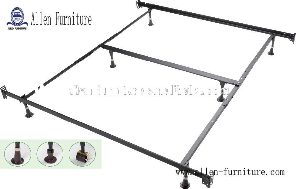 metal bed frame King Universal with headboard and footboard