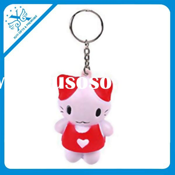 pu cat shaped keychain christian keychains unique gifts young women