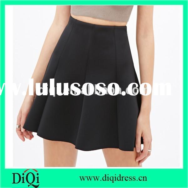 short high fashion skater skirts for ladies alibaba fashion hot sale skirts