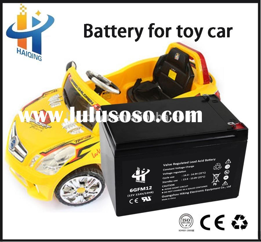 small battery 12v 12ah sealed lead acid electric toy car battery