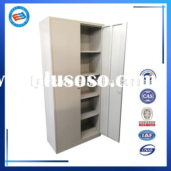 white bathroom storage cabinet with 4 shelves