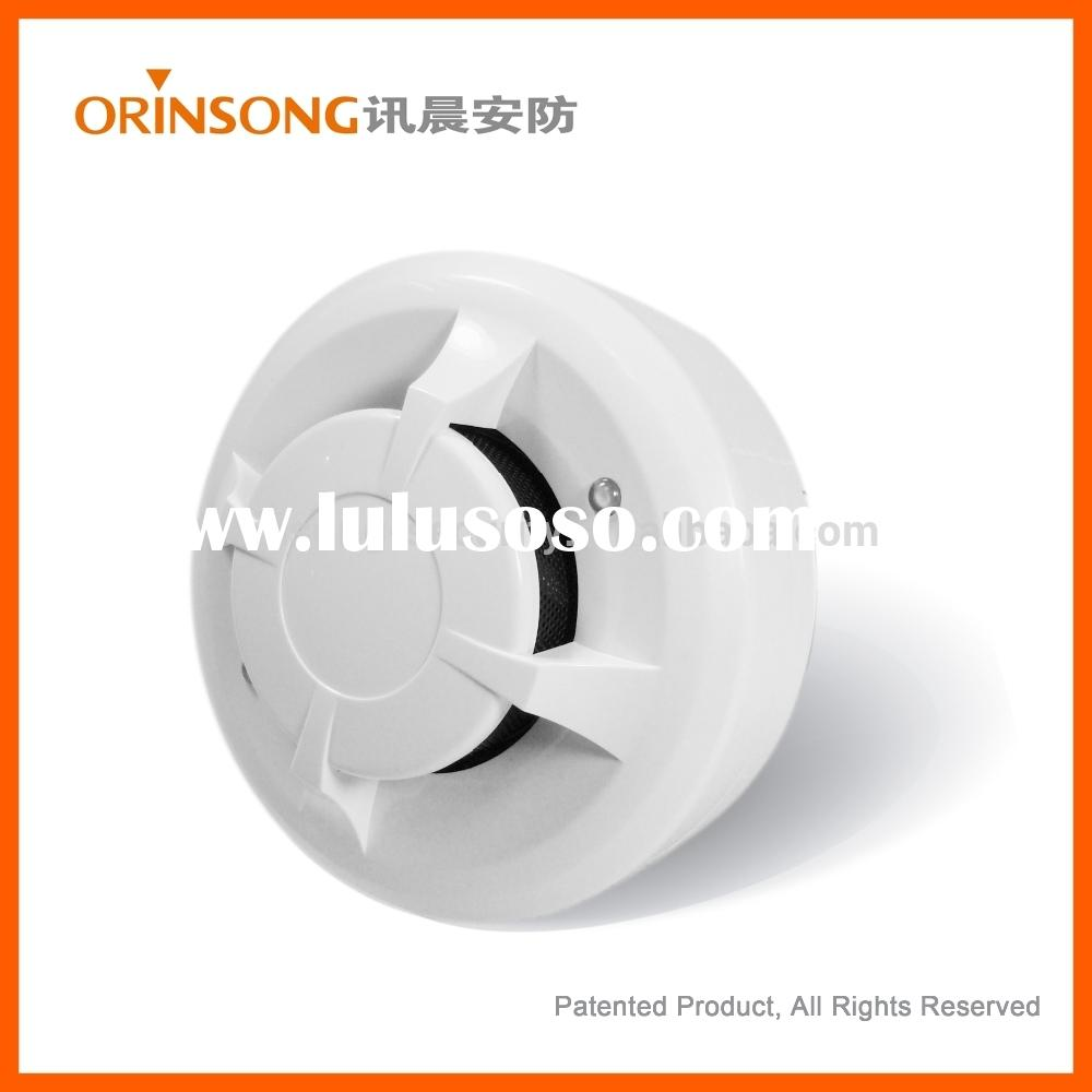 2015 new product CE approved 2 wire photoelectric smoke detector for fire alarm system