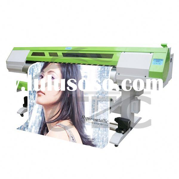 4 Color 4 Station Silk Screen Commercial Printing Press Machine Blue