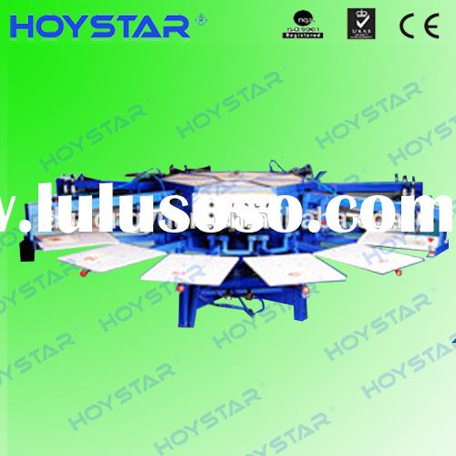 Automatic 6 color t shirt screen printing equipment for sale