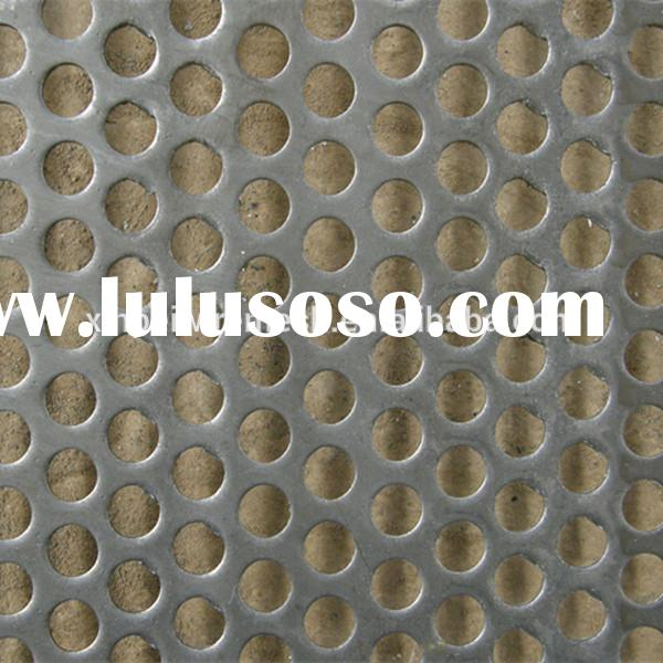 Galvanized Perforated Metal Mesh/Galvanized Perforated Mesh/Perforated Screen