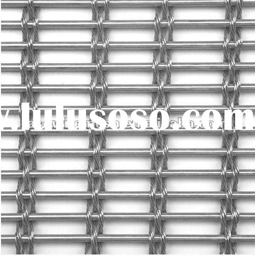 Metallic mesh decorative metal screen mesh(factory)