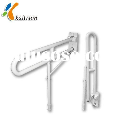 Premium Fold-up Grab Rail with Adjustable Leg ABS Coated on Aluminum or Steel for Safety