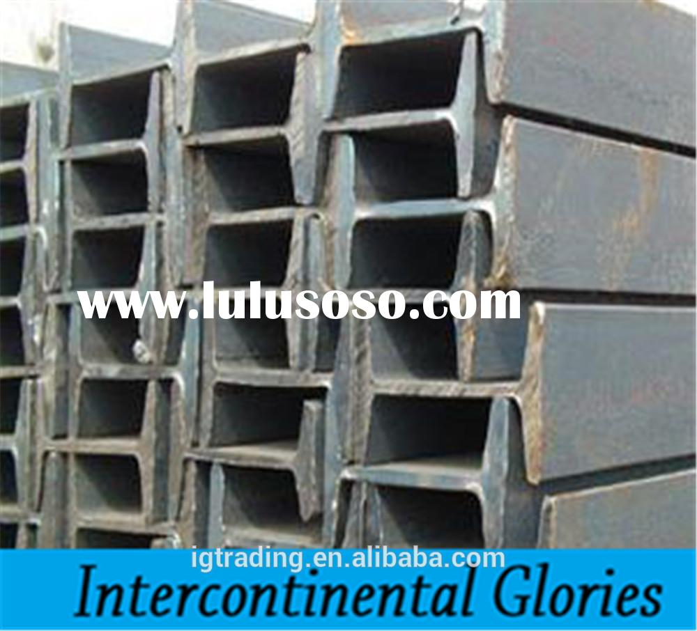 hot rolled china steel i beams for sale used in structural